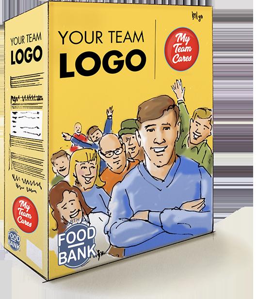 My Team Cares Cereal Box Comp SM
