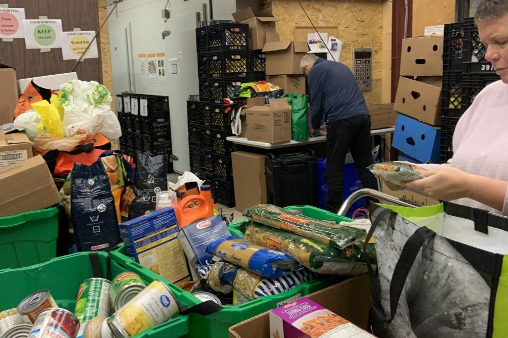 Sorter and Stocker Volunteer at North Bay Food Bank